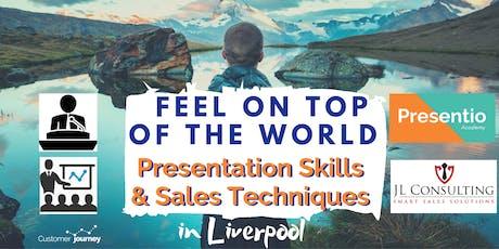 Presentation | Speaking Skills | Sales Techniques MASTERCLASS tickets