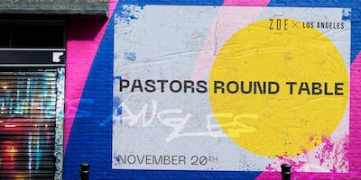 Pastors Roundtable hosted by Zoe Church