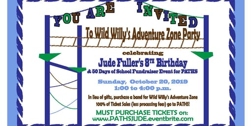 Jude Fuller's 8th Birthday Party & 50 Days of School Celebration Fundraiser Event