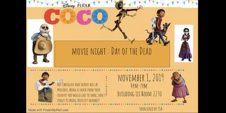 Día de Los Muertos: Coco Movie Night tickets