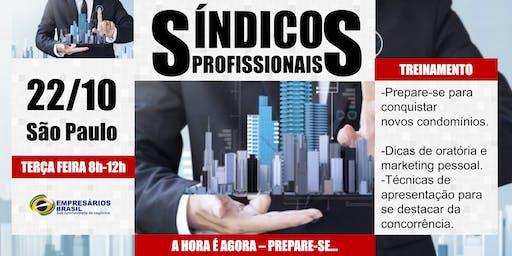 Síndicos Profissionais - Treinamento para conquistas de novos condomínios.
