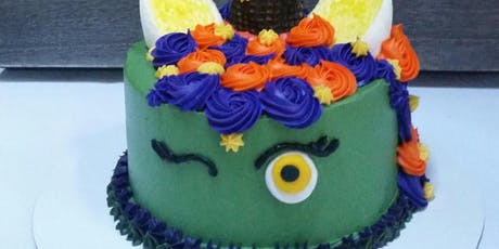 Halloween Cake Decorating - Adult/Child tickets