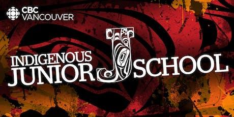 CBC Vancouver  Indigenous Junior J-School tickets