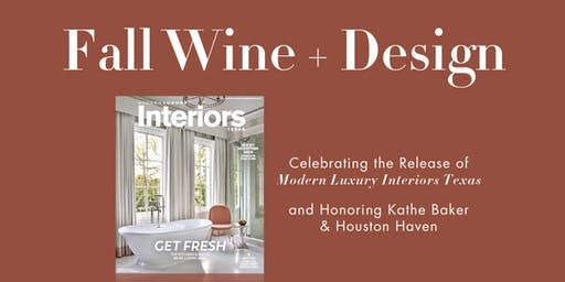 Fall Wine + Design