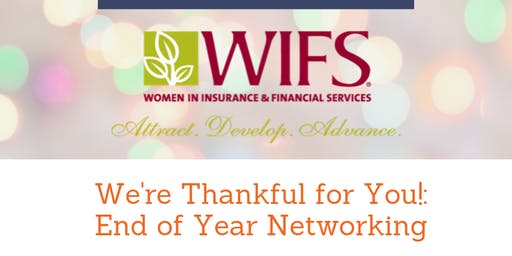 WIFS: Year End Networking