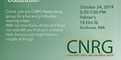 CNRG Andover Business Mixer