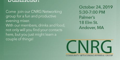 CNRG Andover Business Mixer tickets