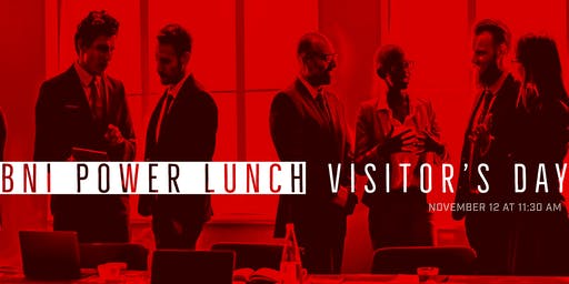BNI Power Lunch: Fall Visitor's Day