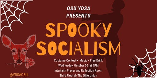 Spooky Socialism! Presented by OSU YDSA