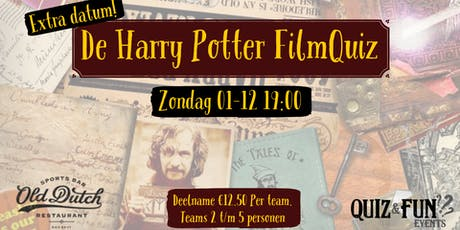 De Harry Potter FilmQuiz | Breda 01-09 tickets