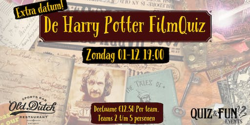 De Harry Potter FilmQuiz | Breda 01-09