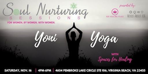 Soul Nurturing Sessions Vol. 5: Yoni Yoga