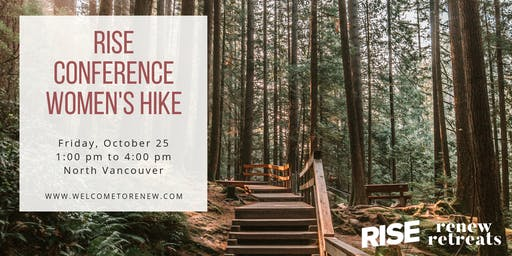 RISE Conference Women's Hike in North Vancouver