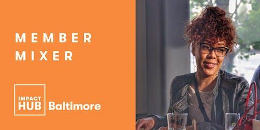 Impact Hub Member Mixer @ Motor House