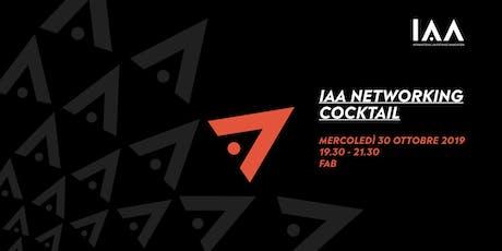 IAA Networking Cocktail biglietti