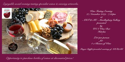 Wine Tasting Evening Presented by UVA Wine Bar at Mardleybury Gallery