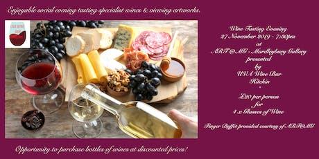 Wine Tasting Evening Presented by UVA Wine Bar at Mardleybury Gallery tickets