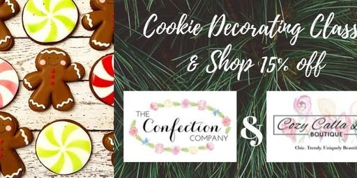 Cookie Decorating Class & Shop 15% off