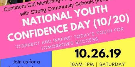 National Youth Confidence Day- CGMP, Inc. tickets