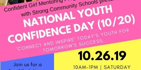 National Youth Confidence Day- CGMP, Inc.