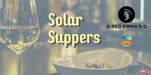 Solar Suppers--Free Dining!