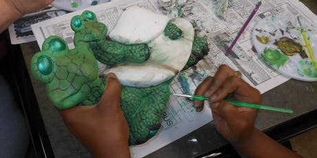 Ceramic Classes: Painting your own pieces with acrylics tickets
