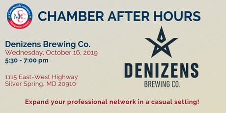 Chamber After Hours at Denizens Brewing Co. tickets