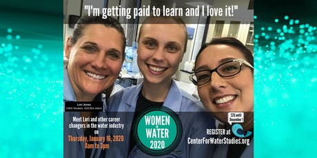 2020 Women in Water Symposium-3rd Annual Event tickets