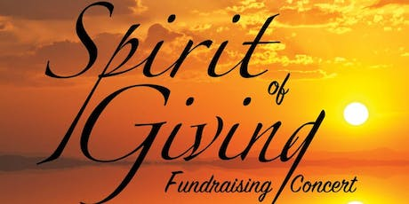 Spirit of Giving Fundraising Concert  tickets