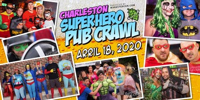 SuperHero Pub Crawl (Charleston, SC)