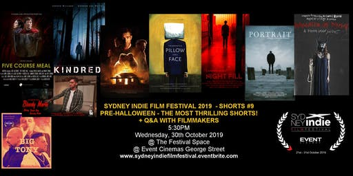 Sydney Indie Film Festival 2019 – Pre-Halloween Short Films Event!
