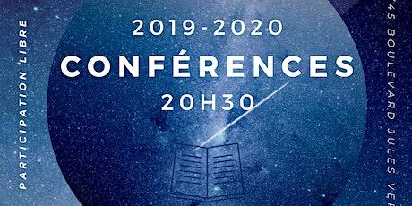Conférences 2019-2020 tickets