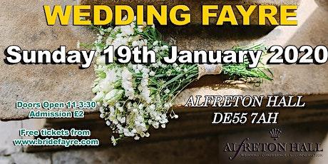Alfreton Hall Wedding Fayre tickets