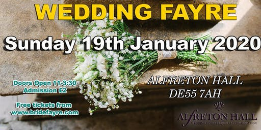 Alfreton Hall Wedding Fayre