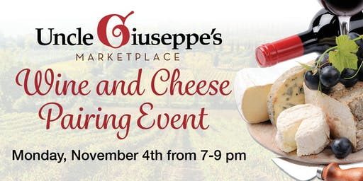 Wine and Cheese Pairing Event