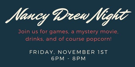 Nancy Drew Night tickets