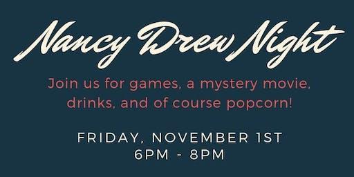 Nancy Drew Night