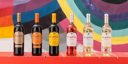 Campo Viejo Color Lab- Sensory Wine Experience