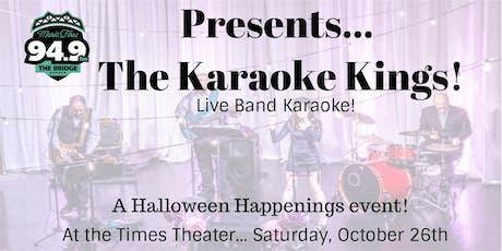 94-9 The Bridge Presents, Halloween Happenings Live Band Karaoke tickets