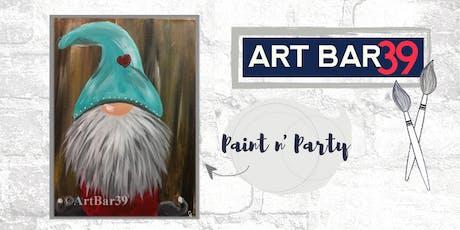 Paint & Sip | ART BAR 39 | Public Event | Gnome tickets