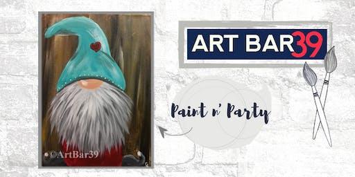 Paint & Sip | ART BAR 39 | Public Event | Gnome