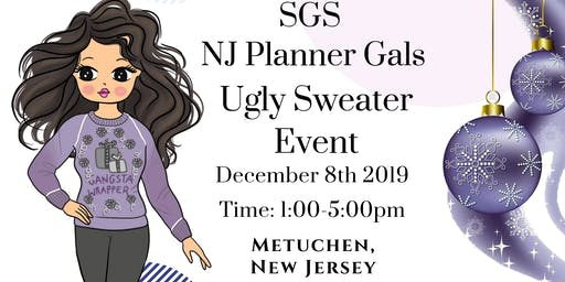 SGS NJ Ugly Sweater Planner Event