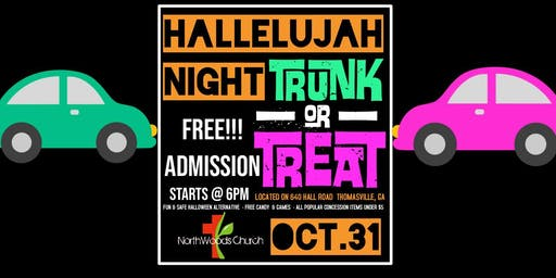 Northwoods Church -Trunk or Treat-Block Party