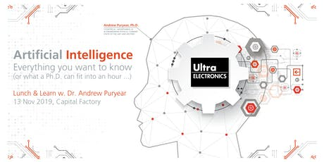 Ultra Electronics Lunch and Learn  tickets