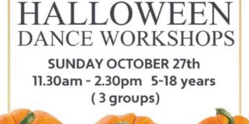 HALLOWEEN DANCE WORKSHOPS