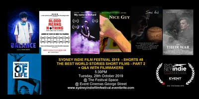 Sydney Indie Film Festival 2019 – World Stories Short Films Part 2!