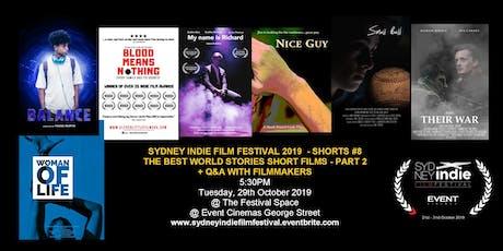 Sydney Indie Film Festival 2019 – World Stories Short Films Part 2! tickets