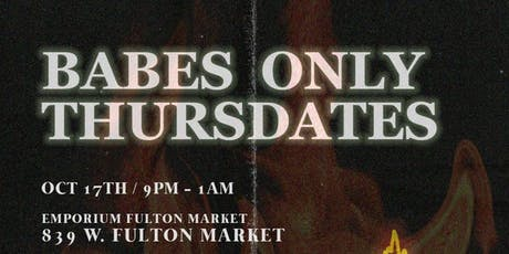 Babes Only Thursdates 1.0 tickets