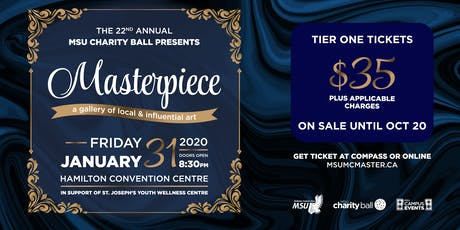 Charity Ball 2020: Masterpiece tickets