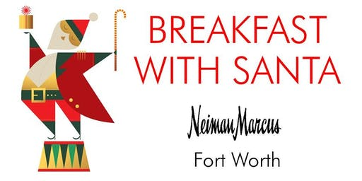 Breakfast with Santa Neiman Marcus NM Cafe Ft. Worth The Shops at Clearfork